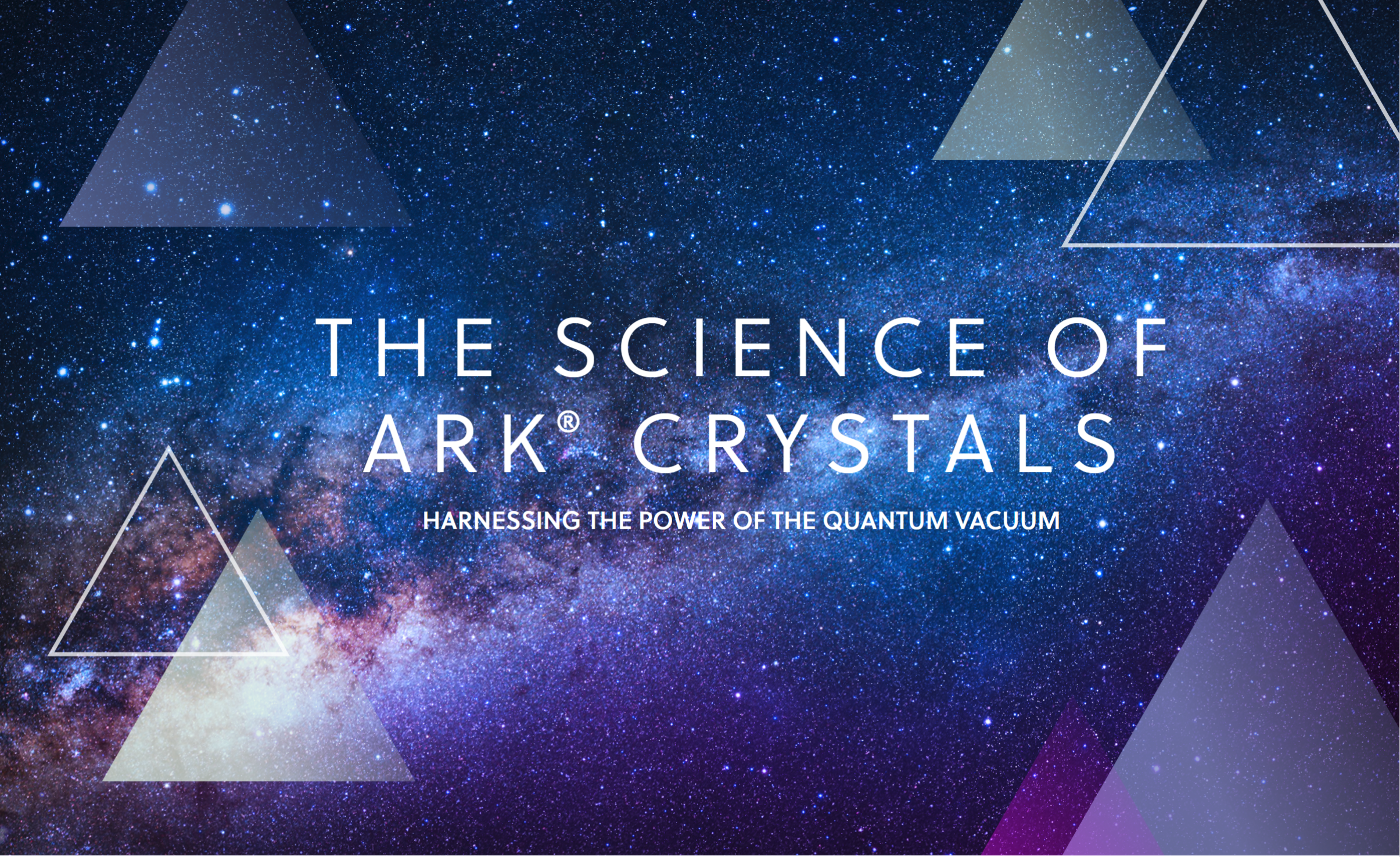 the science of ark crystals